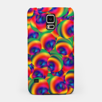 Miniatur Rainbow Bubbles Complete Takeover Samsung Case, Live Heroes
