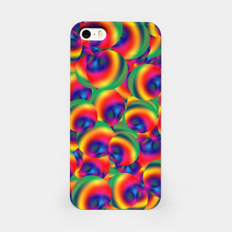 Thumbnail image of Rainbow Bubbles Complete Takeover iPhone Case, Live Heroes