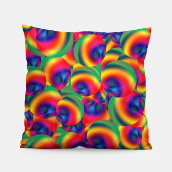 Thumbnail image of Rainbow Bubbles Complete Takeover Pillow, Live Heroes