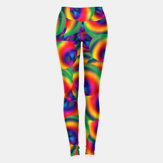 Thumbnail image of Rainbow Bubbles Complete Takeover Leggings, Live Heroes