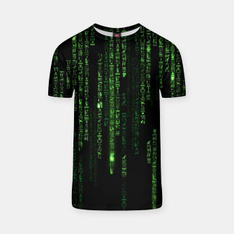 Thumbnail image of Hieroglyphs Reloaded T-shirt, Live Heroes
