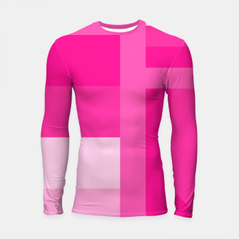 Thumbnail image of stripes pattern 9 geometric dp Longsleeve rashguard , Live Heroes