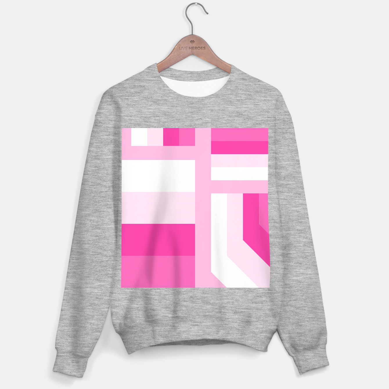 Image of stripes pattern 9 geometric dpi Sweater regular - Live Heroes
