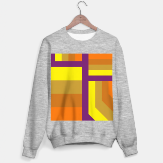Thumbnail image of stripes pattern 9 geometric yvo Sweater regular, Live Heroes