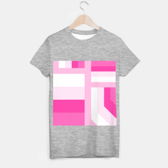 Miniature de image de stripes pattern 9 geometric dpi T-shirt regular, Live Heroes