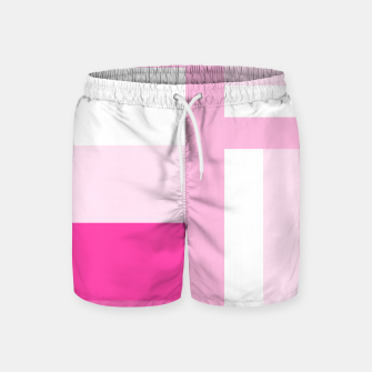 Thumbnail image of stripes pattern 9 geometric dpi Swim Shorts, Live Heroes