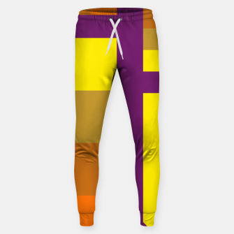 stripes pattern 9 geometric yvo Sweatpants miniature