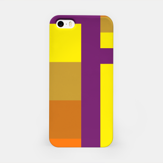 Thumbnail image of stripes pattern 9 geometric yvo iPhone Case, Live Heroes