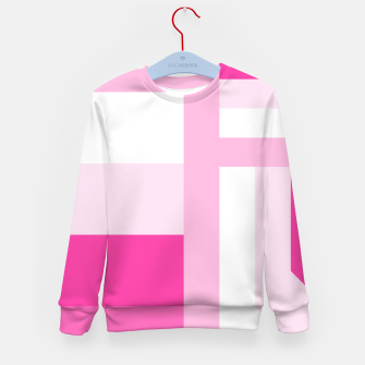 Thumbnail image of stripes pattern 9 geometric dpi Kid's sweater, Live Heroes