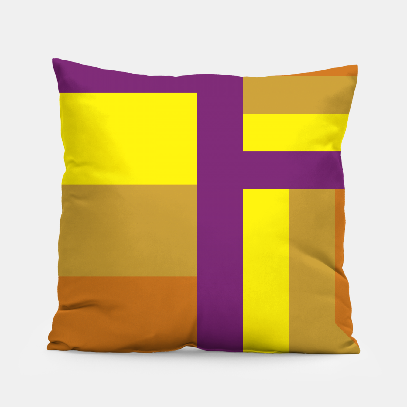 Image of stripes pattern 9 geometric yvo Pillow - Live Heroes