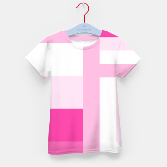Thumbnail image of stripes pattern 9 geometric dpi Kid's t-shirt, Live Heroes