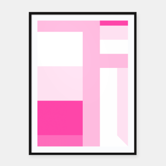 stripes pattern 9 geometric dpi Framed poster thumbnail image
