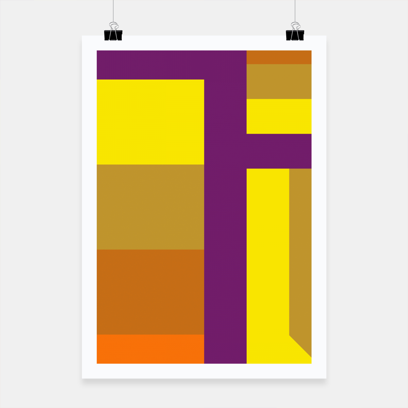 Image of stripes pattern 9 geometric yvo Poster - Live Heroes