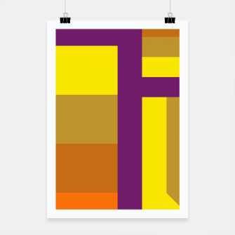 stripes pattern 9 geometric yvo Poster miniature