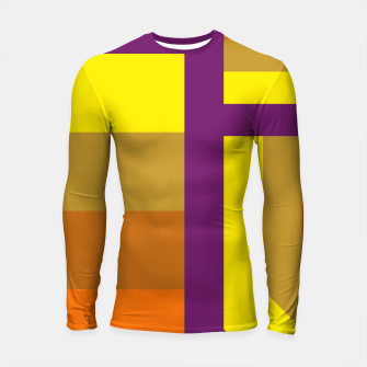 Thumbnail image of stripes pattern 9 geometric yvo Longsleeve rashguard , Live Heroes
