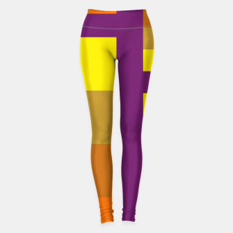 Thumbnail image of stripes pattern 9 geometric yvo Leggings, Live Heroes