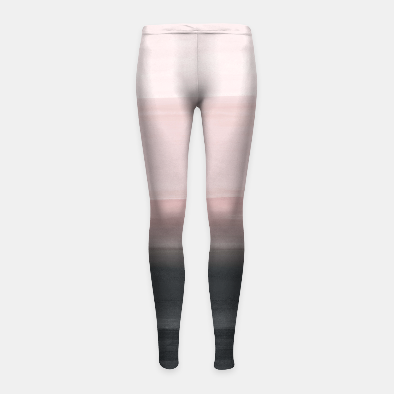 Zdjęcie Touching Blush Black Watercolor Abstract #1 #painting #decor #art  Kinder-Leggins - Live Heroes