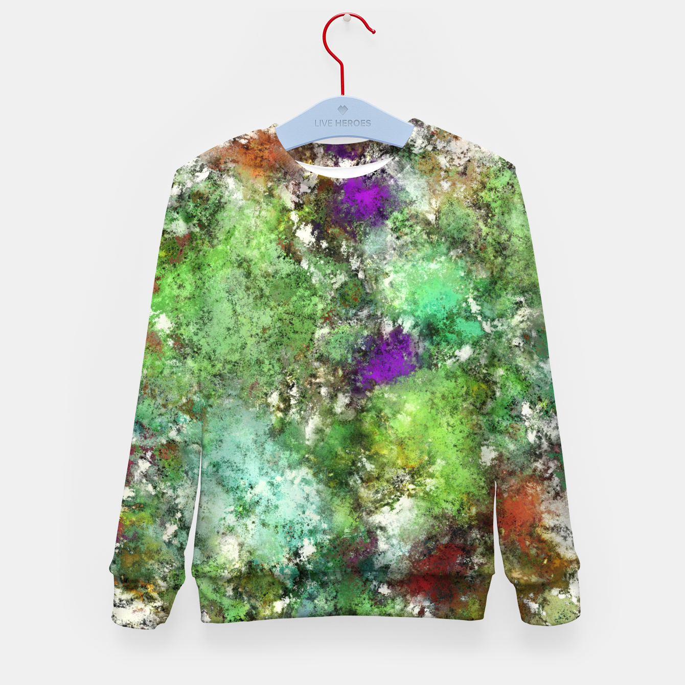Image of Trail run Kid's sweater - Live Heroes