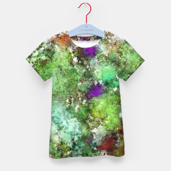 Trail run Kid's t-shirt thumbnail image