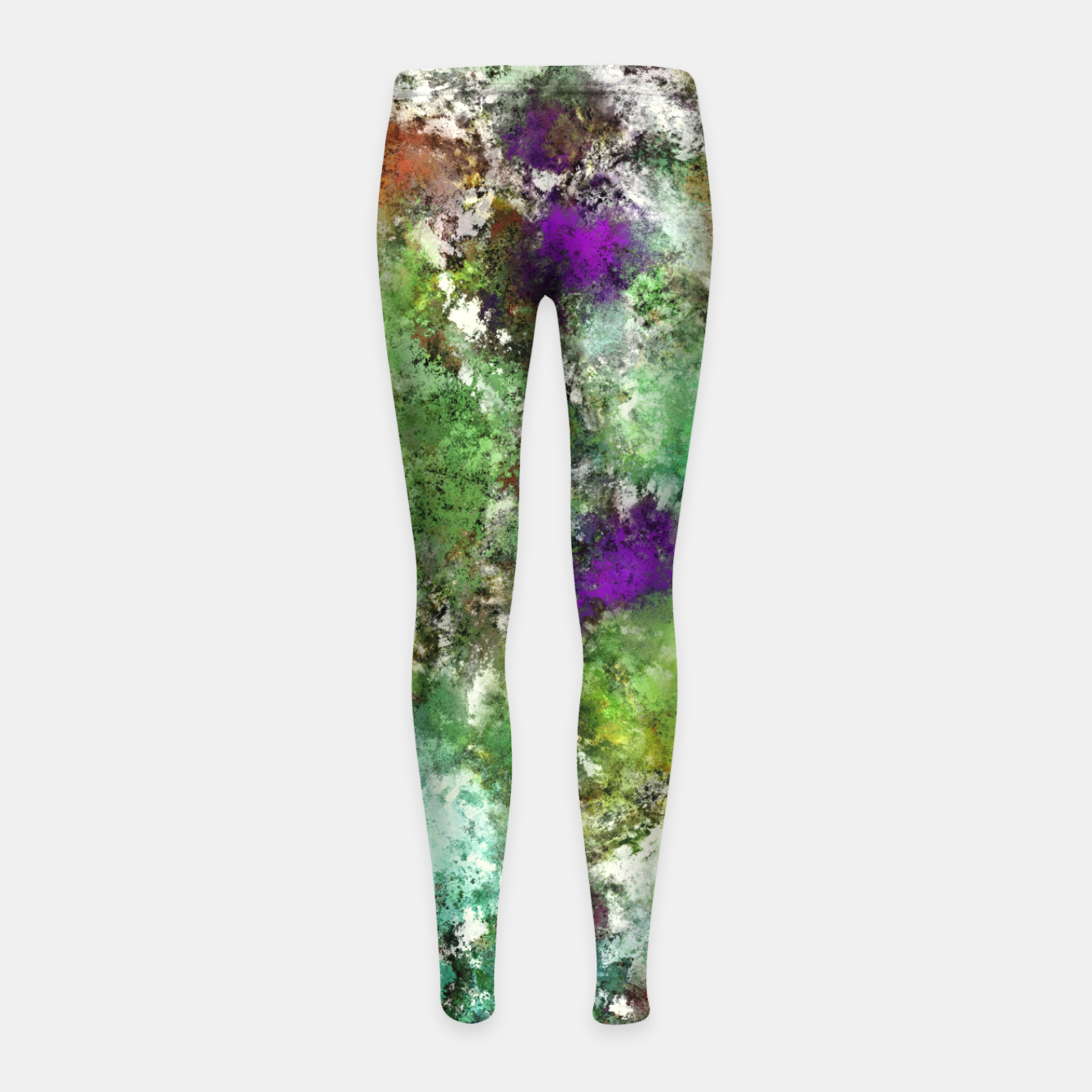 Image of Trail run Girl's leggings - Live Heroes