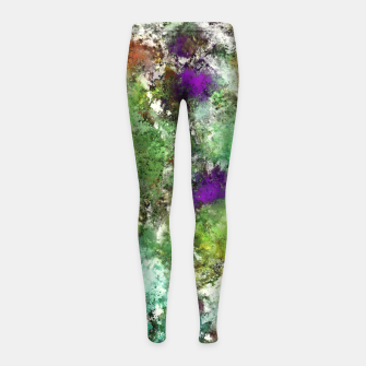 Trail run Girl's leggings thumbnail image
