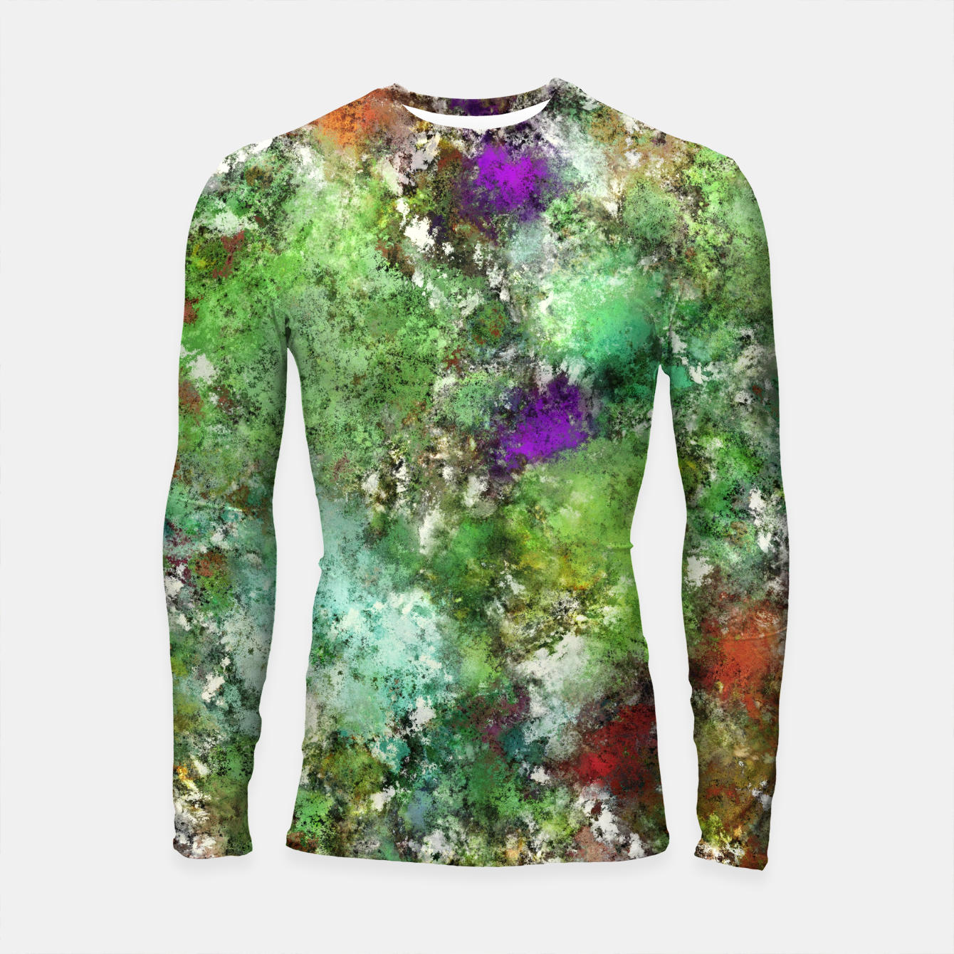 Image of Trail run Longsleeve rashguard  - Live Heroes