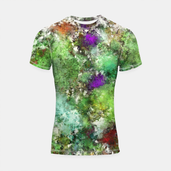 Thumbnail image of Trail run Shortsleeve rashguard, Live Heroes