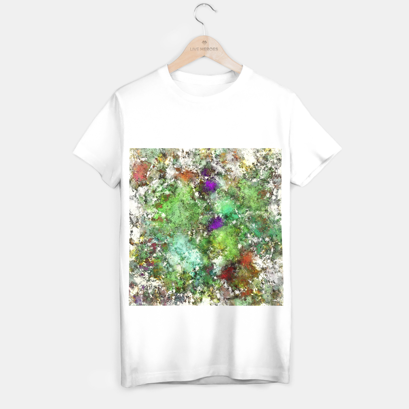 Image of Trail run T-shirt regular - Live Heroes