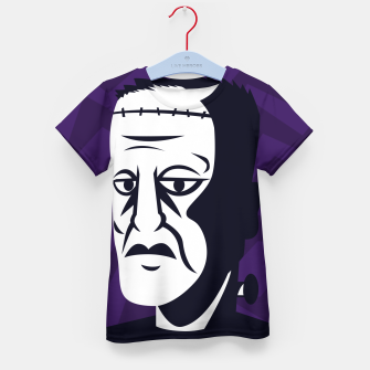 Thumbnail image of Frankenstein Kid's t-shirt, Live Heroes