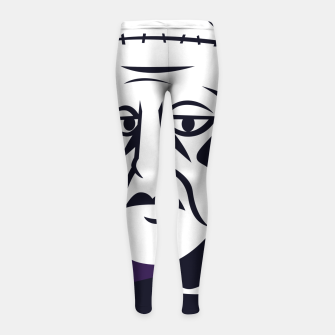 Thumbnail image of Frankenstein Girl's leggings, Live Heroes