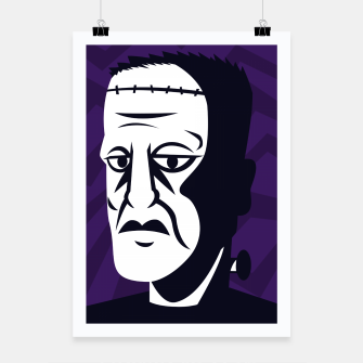 Thumbnail image of Frankenstein Poster, Live Heroes