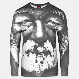 Thumbnail image of Old man Unisex sweater, Live Heroes