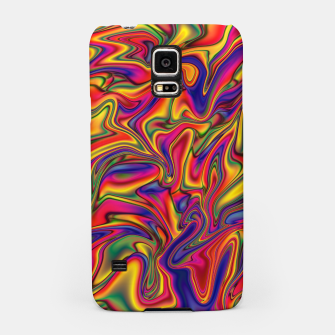 Thumbnail image of Fluid Rainbow Marbling Samsung Case, Live Heroes