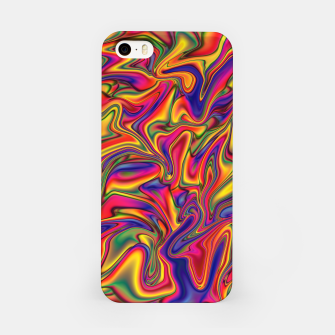 Thumbnail image of Fluid Rainbow Marbling iPhone Case, Live Heroes