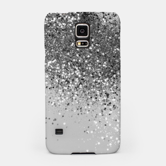 Thumbnail image of Soft Silver Gray Glitter #1 (Faux Glitter - Photography) #shiny #decor #art  Handyhülle für Samsung, Live Heroes
