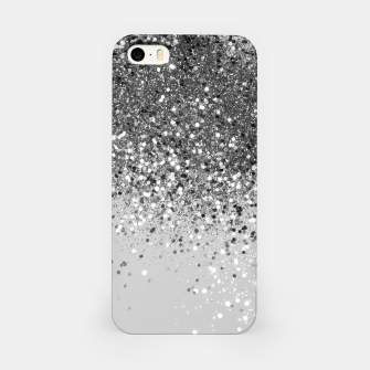 Thumbnail image of Soft Silver Gray Glitter #1 (Faux Glitter - Photography) #shiny #decor #art  iPhone-Hülle, Live Heroes