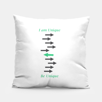 Miniatur Be Unique Concept Design Pillow, Live Heroes
