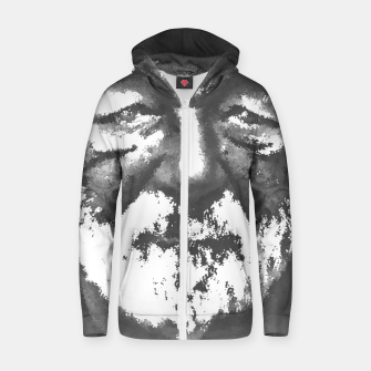 Thumbnail image of Old man Zip up hoodie, Live Heroes