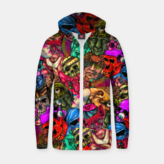 Miniatur Men and Mutants Color Zip up hoodie, Live Heroes