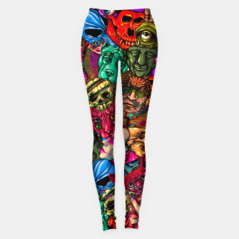 Miniatur Men and Mutants Color Leggings, Live Heroes