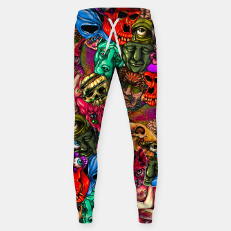 Miniatur Men and Mutants Color Sweatpants, Live Heroes