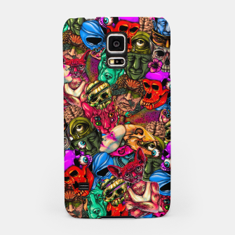 Miniatur Men and Mutants Color Samsung Case, Live Heroes
