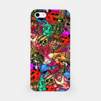 Miniatur Men and Mutants Color iPhone Case, Live Heroes