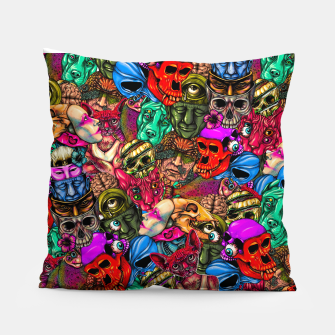 Miniatur Men and Mutants Color Pillow, Live Heroes