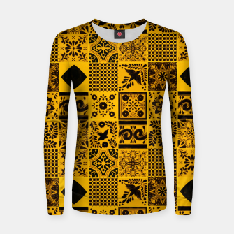 Thumbnail image of Lovely Traditional Moroccan Oriental Artwork Tiles Stle Women sweater, Live Heroes