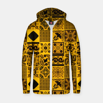 Thumbnail image of Lovely Traditional Moroccan Oriental Artwork Tiles Stle Zip up hoodie, Live Heroes