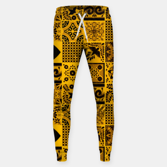 Miniaturka Lovely Traditional Moroccan Oriental Artwork Tiles Stle Sweatpants, Live Heroes