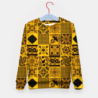 Miniaturka Lovely Traditional Moroccan Oriental Artwork Tiles Stle Kid's sweater, Live Heroes