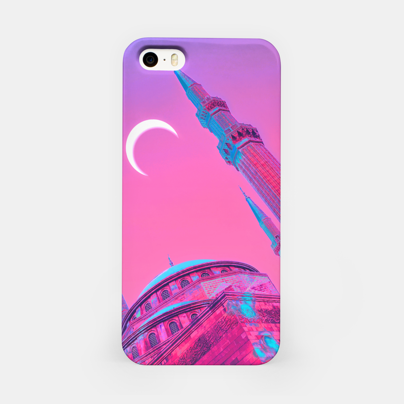 Image of Day Moon iPhone Case - Live Heroes