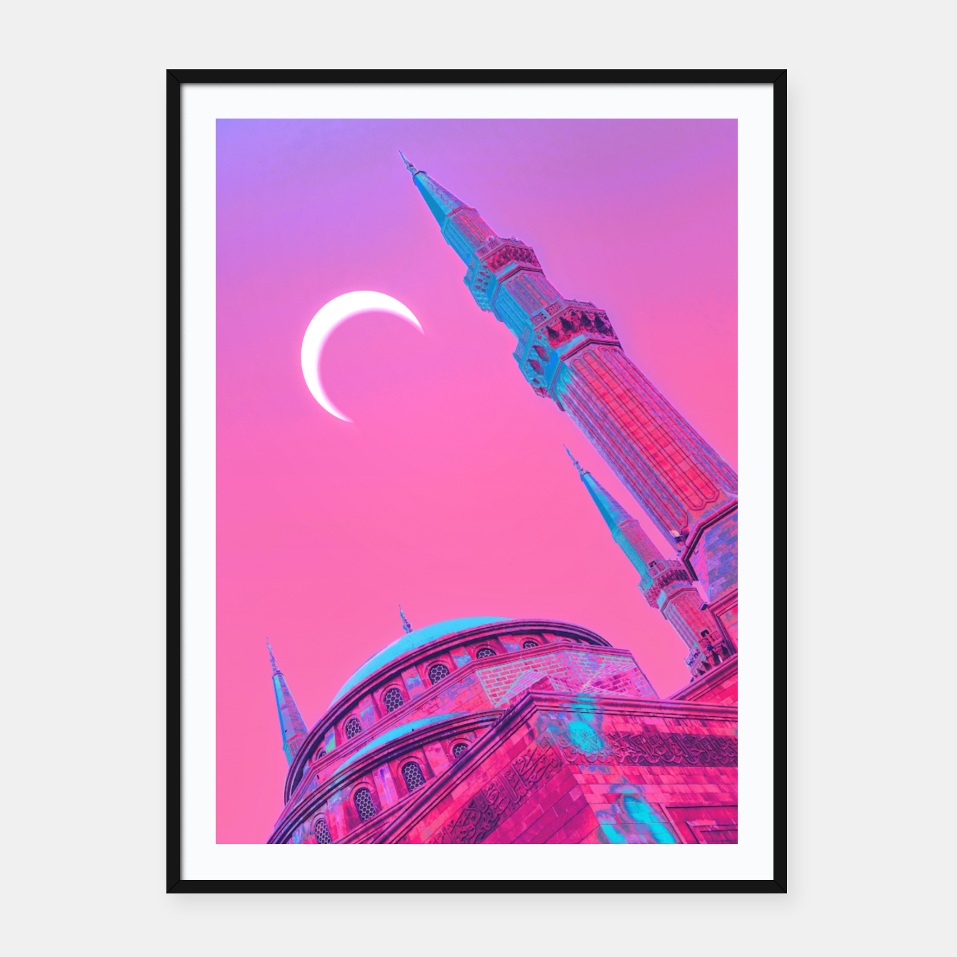 Image of Day Moon Framed poster - Live Heroes